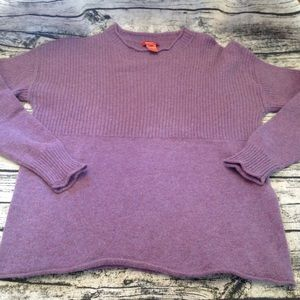 Plum sweater by The Territory Ahead